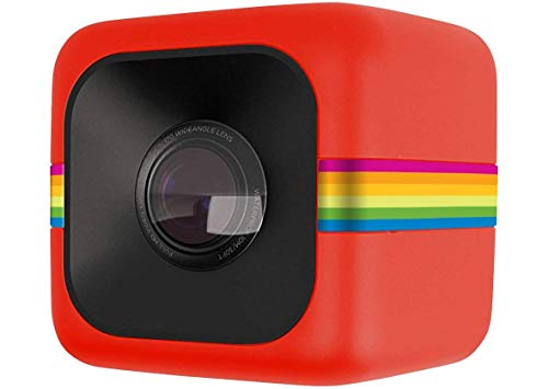 Polaroid ポラロイド POLC3 キューブ HD デジタルビデオアクションカメラ赤