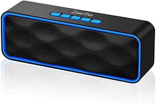 ZoeeTree S1 Altoparlante Bluetooth Portatili, Cassa Bluetooth con Audio HD e Bassi Potenziati,...