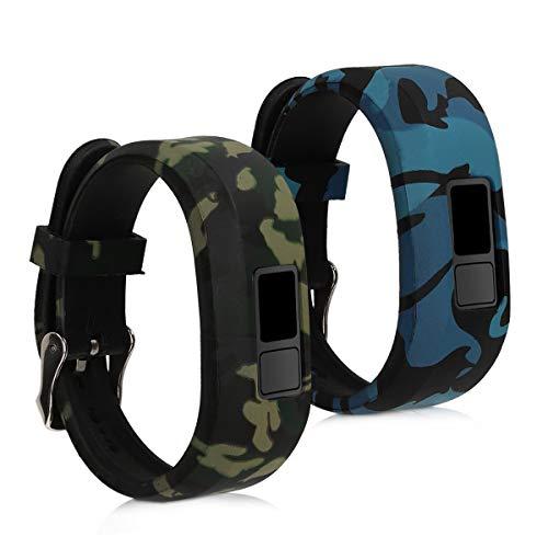 kwmobile Armband kompatibel mit Garmin Vivofit jr. / jr. 2-2X Silikon...