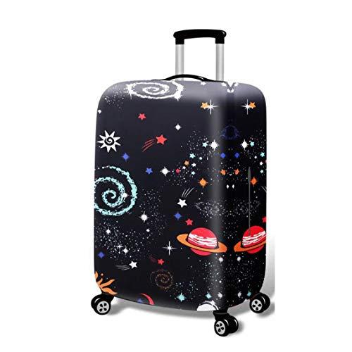 BBOOXX Luggage Cover Copertine per valigie Carrello Bagaglio Protettivo Astuccio personalit Paesaggio Stampare Ragazzo Ragazza Modello Viaggio Bagaglio Copertura Antipolvere H-M(22-24 inch)