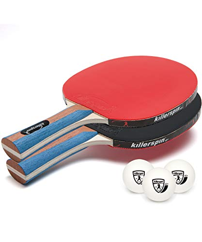 Killerspin JET Set 2 Table Tennis Paddles and Ping Pong...