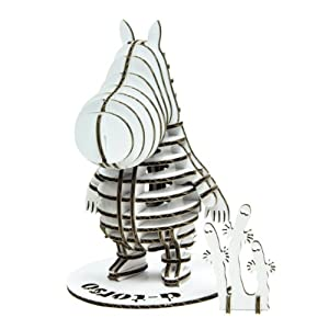 w/tracking by JP post d-torso Moomin 100 (white)