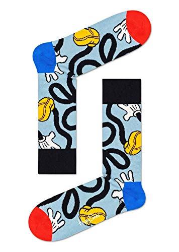 Happy Socks Calzini donna fantasia Disney Mickey Stretch multicolore. Taglia unica 36-40