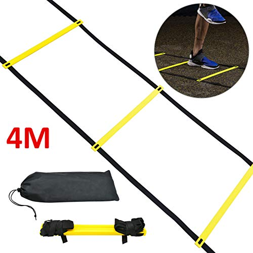 PetHot 4M Foot Speed Ladder Speed Agility Fitness Training Ladder Footwork Sport Equipment