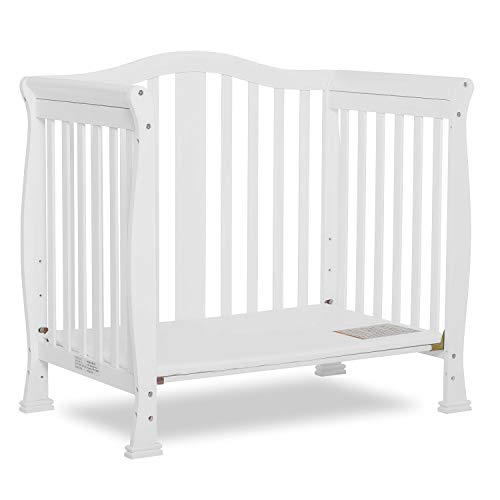 Product Image 8: Dream On Me Addison 4-in-1 Convertible Mini Crib in White, Greenguard Gold Certified