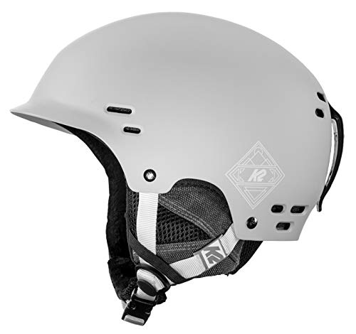 K2 Thrive Gray, Casco da Sci. Uomo, Grau, M