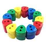 Miukada Manual Pencil Sharpener with Receptacle for Regular or Oversize Pencil/Crayons. Double Holes for School, Office and Home(4 different colors, 12 packed)