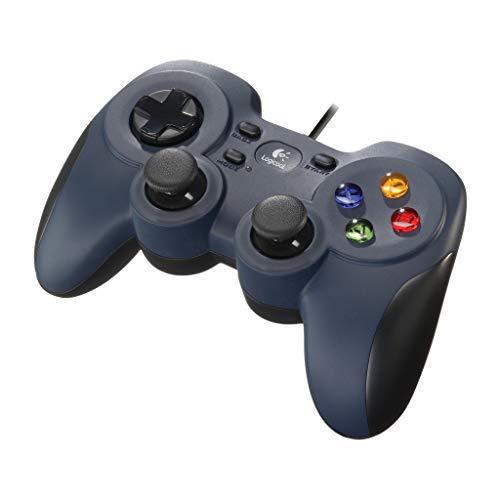 Logicool G ゲームパッド F310r ダークブルー PC ゲームコントローラー