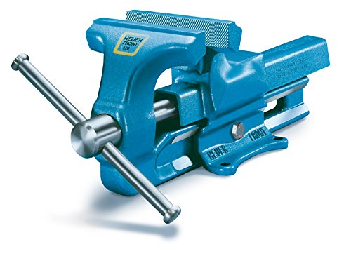 Heuer Schraubstock (ganz aus Stahl geschmiedet, unzerbrechlich, Backenbreite: 120 mm, Spannweite: 150 mm) 100120