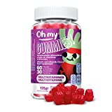 Oh My Gummie! Multivitaminas - Ayuda a mantener la energia y la absorción del hierro y el calcio....