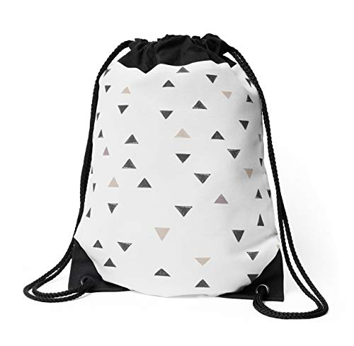 ELQSMTIR Down Up Scandi bianco caldo grigio lino lavanda spalla coulisse string zaino borse zaino per la scuola, palestra, sport bag
