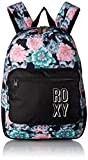 Roxy Big Happy at Home Girls Backpack, anthracite sample crystal flower, 1SZ