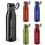 polar-effekt Personalisierte Trinkflasche mit Namen 650...