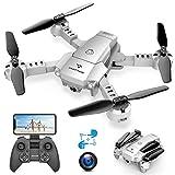 SNAPTAIN A10 Mini Drone Caméra 720P Pliable WiFi FPV, Contrôle par...