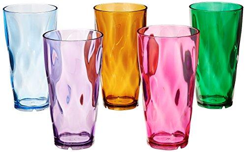 Creative Ware vasos de plástico de 24 onzas, juego de 10