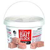 J T Eaton JT Eaton 704-AP Block Anticoagulant, Apple Flavor, for Mice and Rats (Pail of 64) rodenticide Bait