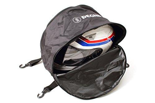 DEGNER(デグナー) ヘルメットバッグ ポリエステル ブラック H28xW27xD33(cm) NB-106