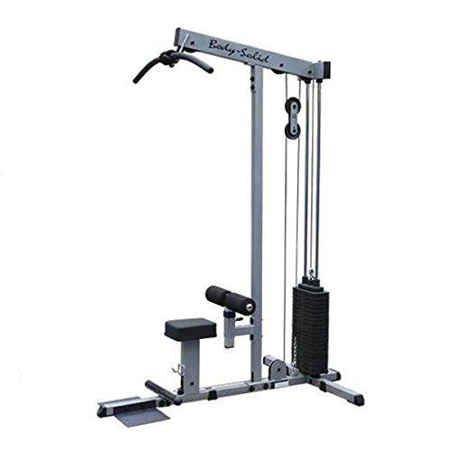 Body-Solid Latzug und Ruderzug mit 95kg oder 130kg Steckgewichten (95kg Steckgewichte)