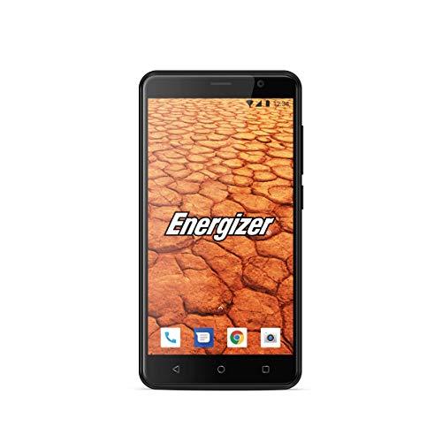 Energizer MOBILES AND ACCESSORIES ENERGY 500 - Smartphone débloqué 3G - Prise EU (Écran : 5 pouces - 8 Go - Double Sim - Android ) Coque + Protection Incluses - Noir