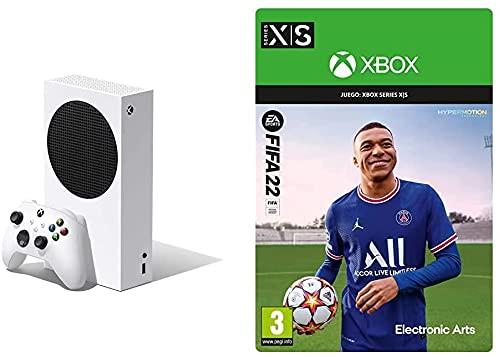 Xbox Series S + FIFA 22: Standard - Código de descarga
