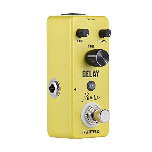 Muslady Guitar Effect Pedal Mini Pure Analog Delay True Bypass Aluminum Alloy Body