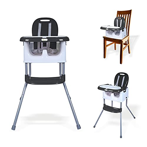 R for Rabbit Cranberry 3 in 1 Baby High Chair | Multifunctional Baby Feeding High Chair Turn Booster...