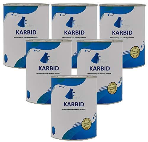 Flabzo 3 Kg Karbid der Marke 4260626392194 (Regnr.EU 3429) (3,0 Kg)