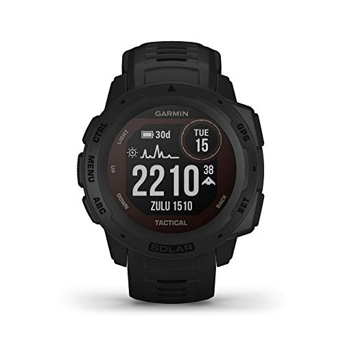 The Garmin Instinct Tactical Solar sports watch with GPS and solar charging is reduced to 357.62 euros on Amazon, its minimum