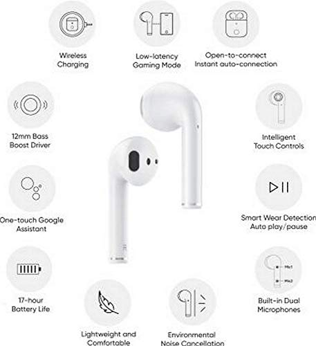 Realme Buds Air Bluetooth Headset with Mic 3