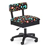 Arrow Cabinets Hydraulic Sewing Chair Sewing Notions with Black Background - H7013B