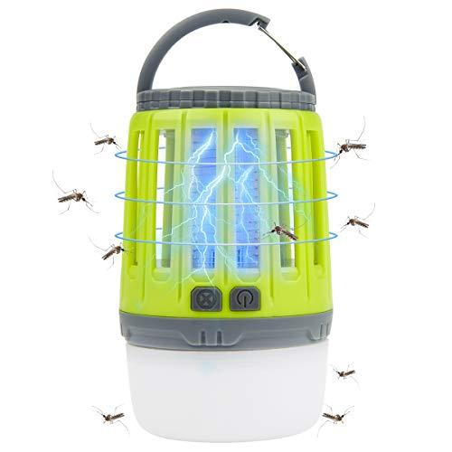 Osaloe Lampe Anti Moustiques, Tueur d'Insectes Portable Lanterne de Camping...