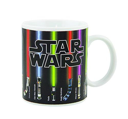 Star Wars Lightsaber Calor Cambio Taza, Multicolor