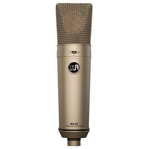 Warm Audio WA-87 Vintage-Style Condenser Microphone Nickel