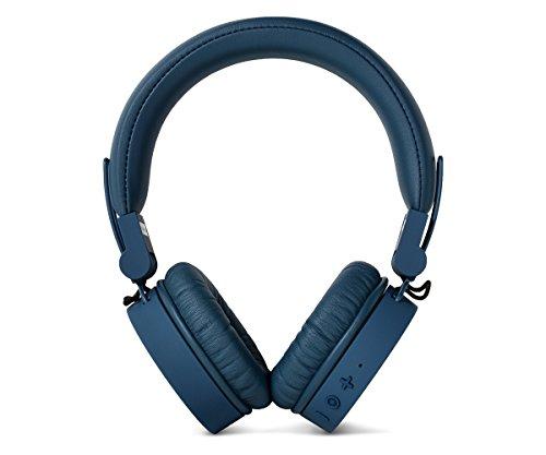 Fresh 'n Rebel Caps Wireless Headphones, Cuffie Bluetooth On Ear, Senza Fili, Padiglioni Morbidi Anti Rumore, Struttura Chiudibile, Microfono e Telecomando Integrati, Cavo di Riserva, Blu