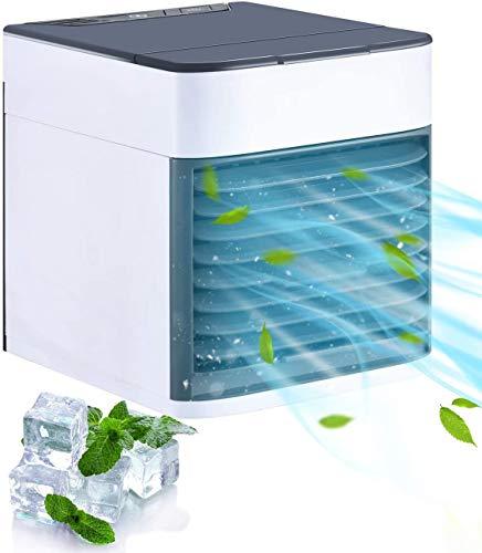 Homitt Mini Raffreddatore D'aria,Personale Condizionatori Raffrescatore Evaporativoa 3 Velocit,...