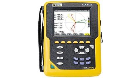Chauvin Arnoux Ca8333 Analyseur de puissance pour rotatif 3 ports I/U 1000 Vac, 6500 réseau AAC