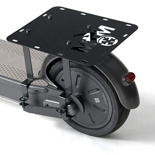 M4M Maletero de Carga para Ninebot de Segway MAX G30 Kickscooter - MAXPorter (el Scooter y Las cestas no están incluidos)