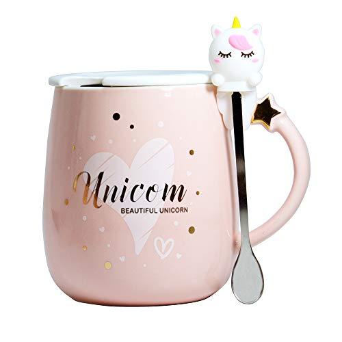 Süß Einhorn tasse Kaffeetassen Becher Kaffee-Becher Keramik Teetasse Milchbecher Neuheit Becher...