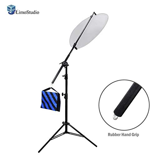 LimoStudio Photo Studio Lighting Reflector Arm Stand...