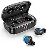 Ecouteur Bluetooth, Écouteurs sans Fil Bluetooth 105 Heures Lecture avec Hi-FI...