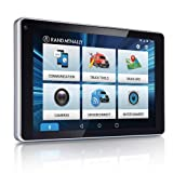 Rand McNally - OverDryve 7 Pro Truck Navigation with 7' Display, Bluetooth, SiriusXM, and Free Lifetime Maps