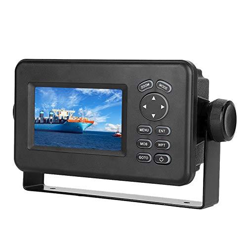 EBTOOLS Navigatore GPS marino, Combo LCD da 4,3 pollici Ricetrasmettitore LCD con schermo multischermo Navigatore GPS marino