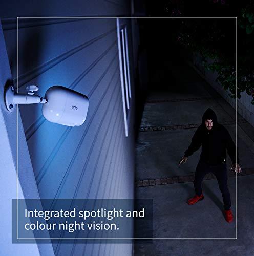 41kqBxqOXiL._SL500_ [Bon plan Arlo] !  Pack Arlo composé de : Panneau Solaire Pour Essential et 3 Caméras Essential - Blanc