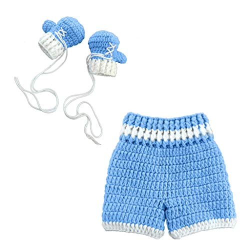 Newborn Photography Outfits Baby Boy Photo Shoot Crochet Props...
