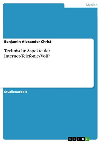 Technische Aspekte der Internet-Telefonie/VoIP...