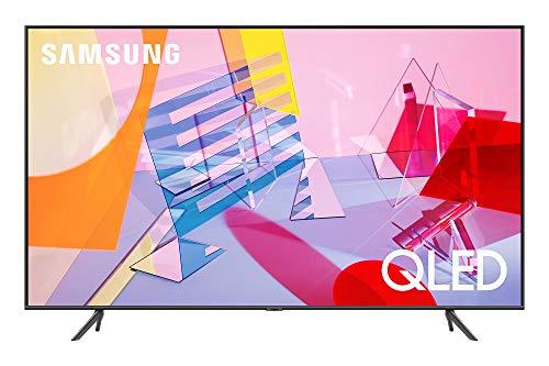 SAMSUNG 43-inch Class QLED Q60T Series - 4K UHD Dual LED Quantum HDR Smart TV with Alexa Built-in (QN43Q60TAFXZA, 2020 Model)