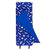 Wildkin Original Nap Mat with Pillow for Toddler Boys and Girls, Measures 50 x 20 x 1.5 Inches,...