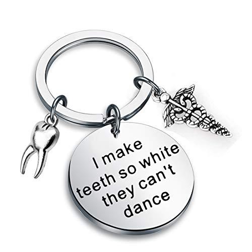 Zuo Bao Denist Keychain Gift Dental Jewelry I Make Teeth So...