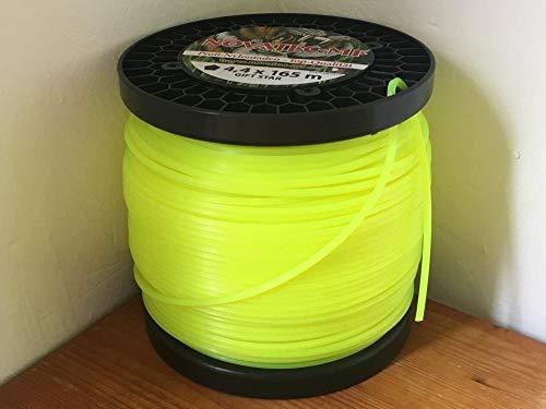 Filo per decespugliatore, filo di nylon, filo per falciatura Tamburo 4,4 mm x 165 m