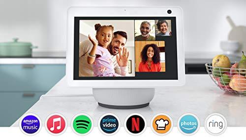 Nuevo Echo Show 10 (3.ª generación) | Pantalla inteligente HD...